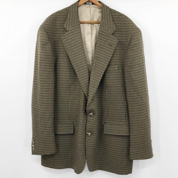 VTG POLO University Club Wool Union made blazer